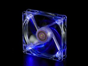 FAN 12CM - LED BLUE